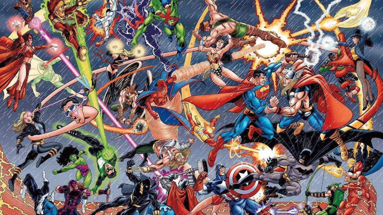 DC Comics: un nuovo crossover con la Marvel spopola su Twitter