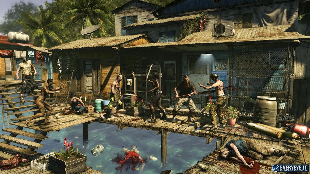 Dead Island Riptide rimane in cima alla classifica software UK