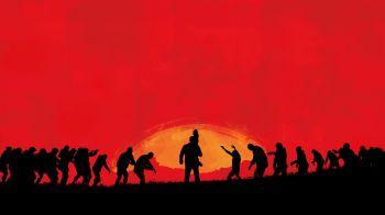 Dead Rising omaggia l'artwork di Red Dead Redemption 2