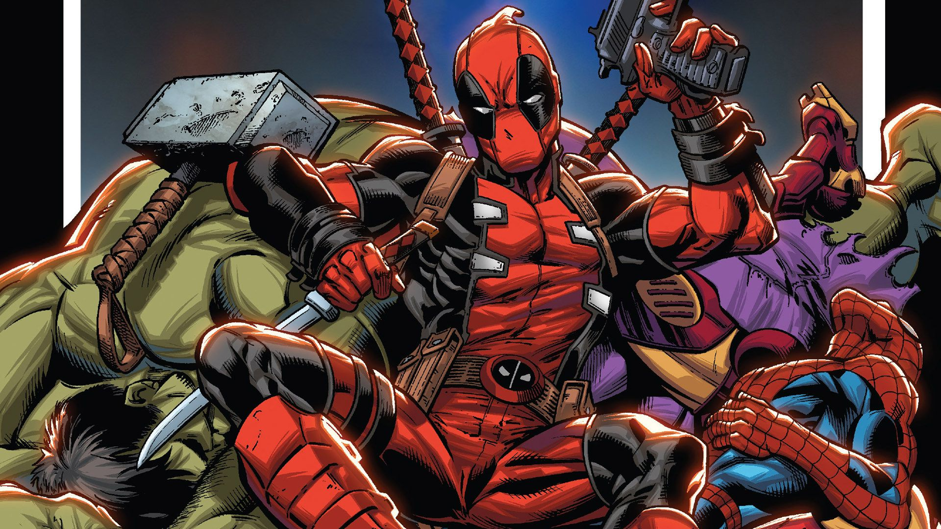 Deadpool Rob Liefeld And Other Historical Writers Return For The Mercenary S 30th Anniversary Anime Sweet