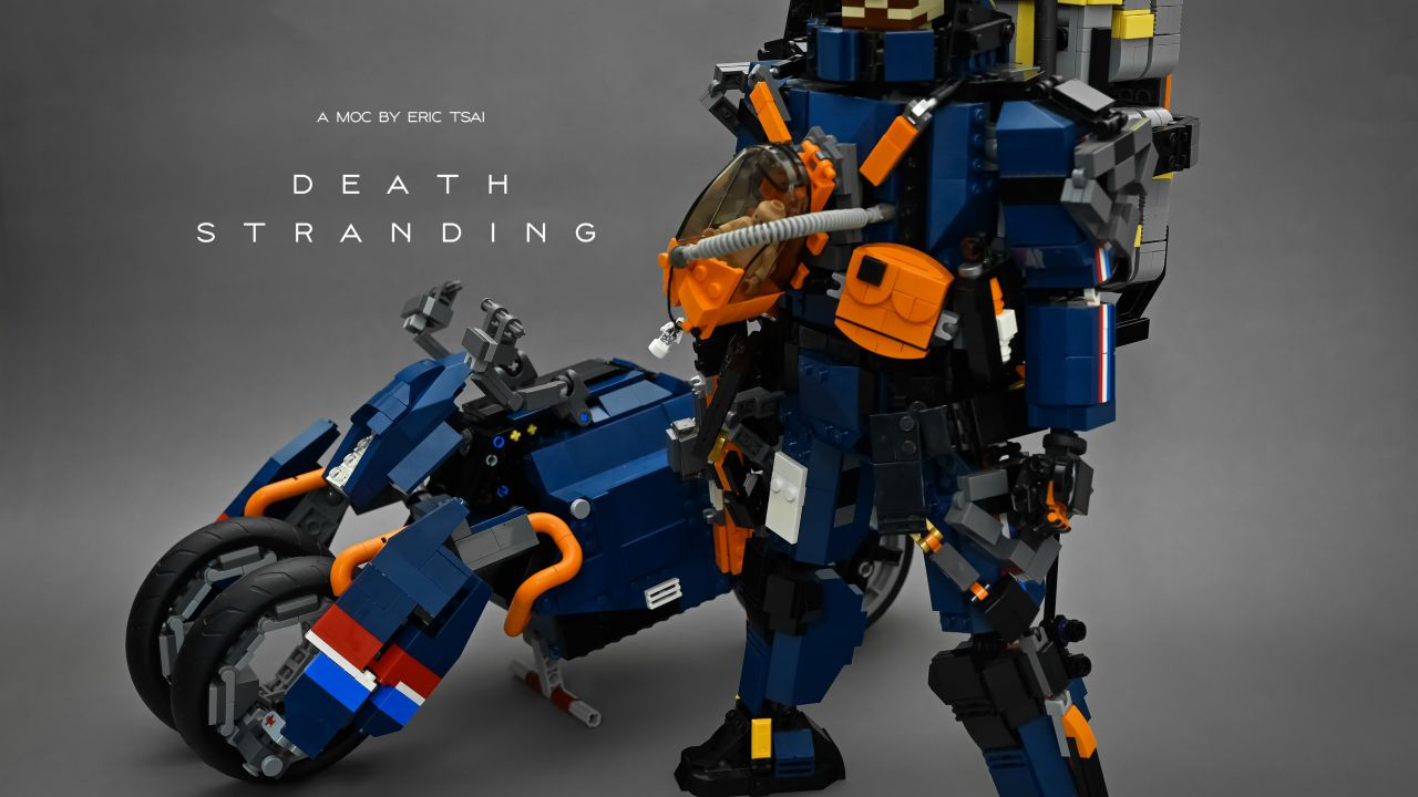 Death Stranding diventa un LEGO: la creazione di un fan apprezzata da Kojima