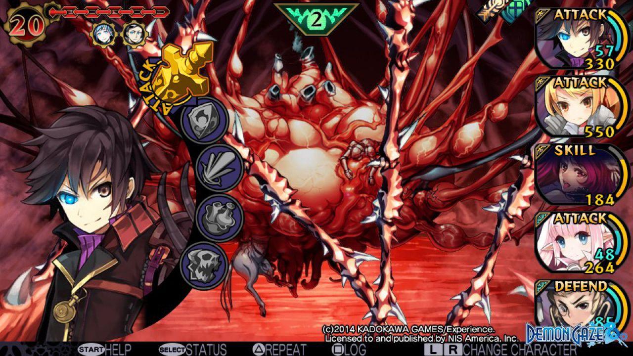 Demon Gaze, confermato il DLC di Disgaea al lancio