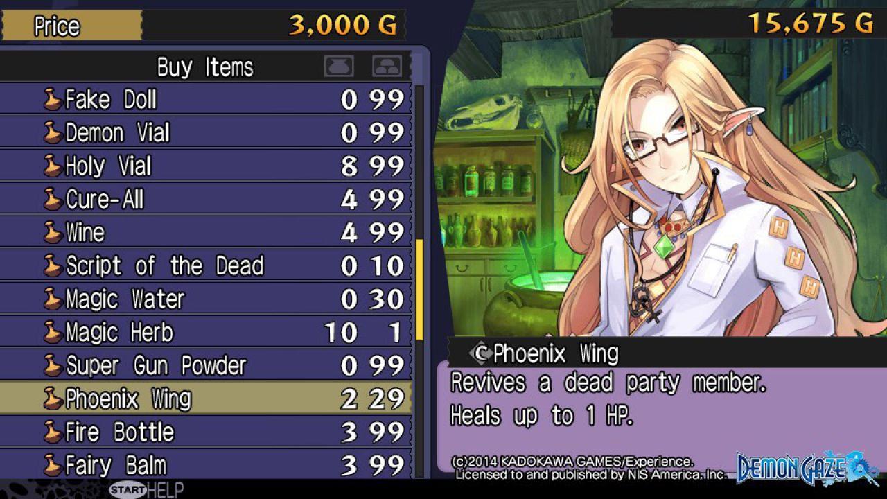 Demon Gaze: nuovi screenshot del gioco
