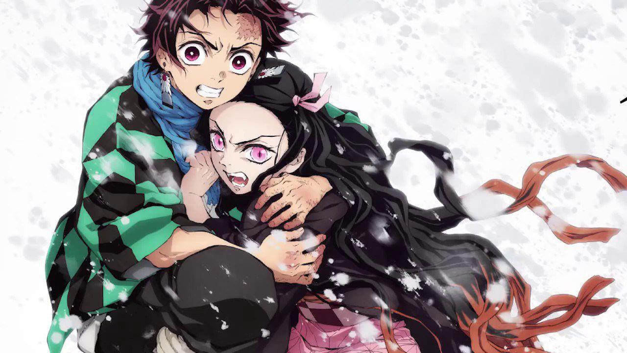 Demon Slayer: l'abbraccio tra Nezuko e Tanjiro in un esilarante cosplay a basso costo