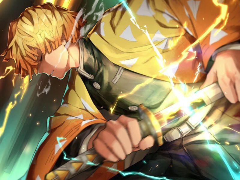 Demon Slayer: come apparirebbe Zenitsu nei manga di Dragon Ball, Naruto, JoJo e ONE PIECE?