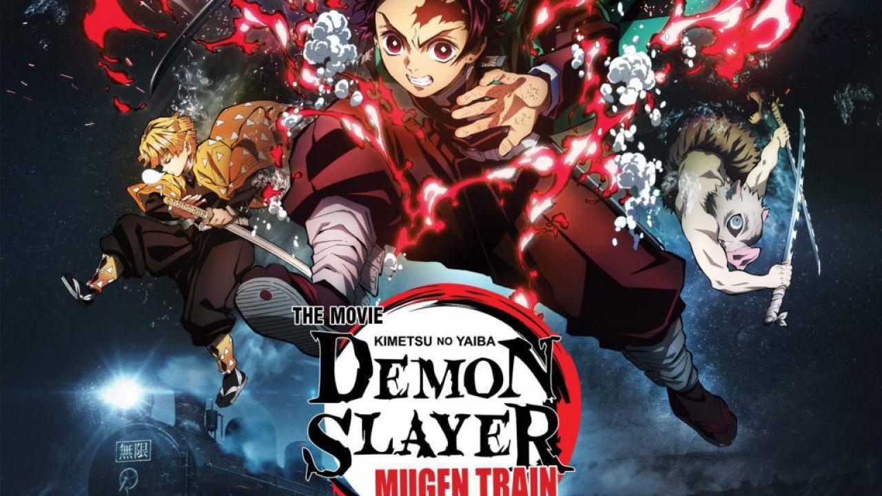 Demon Slayer: Infinity Train supera La città incantata, è il film anime più visto al mondo