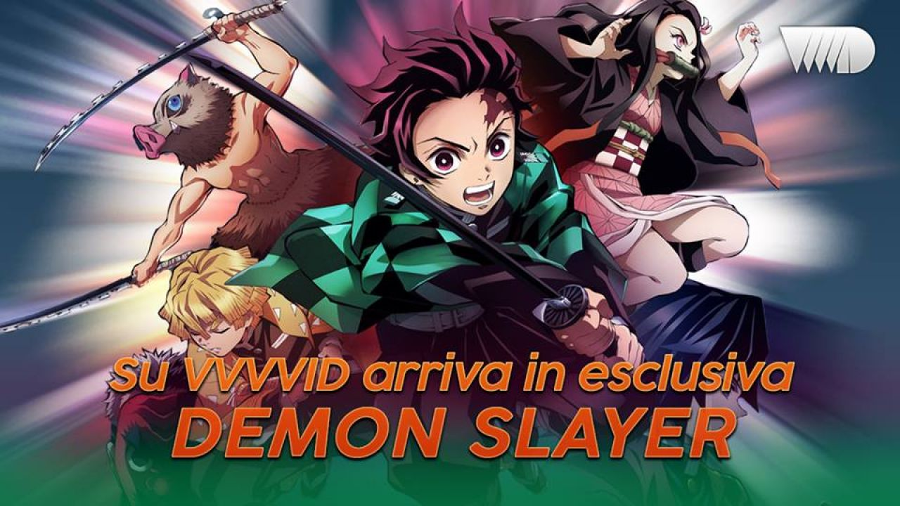 Demon Slayer: Kimetsu no Yaiba, arriva in Italia su VVVVID!