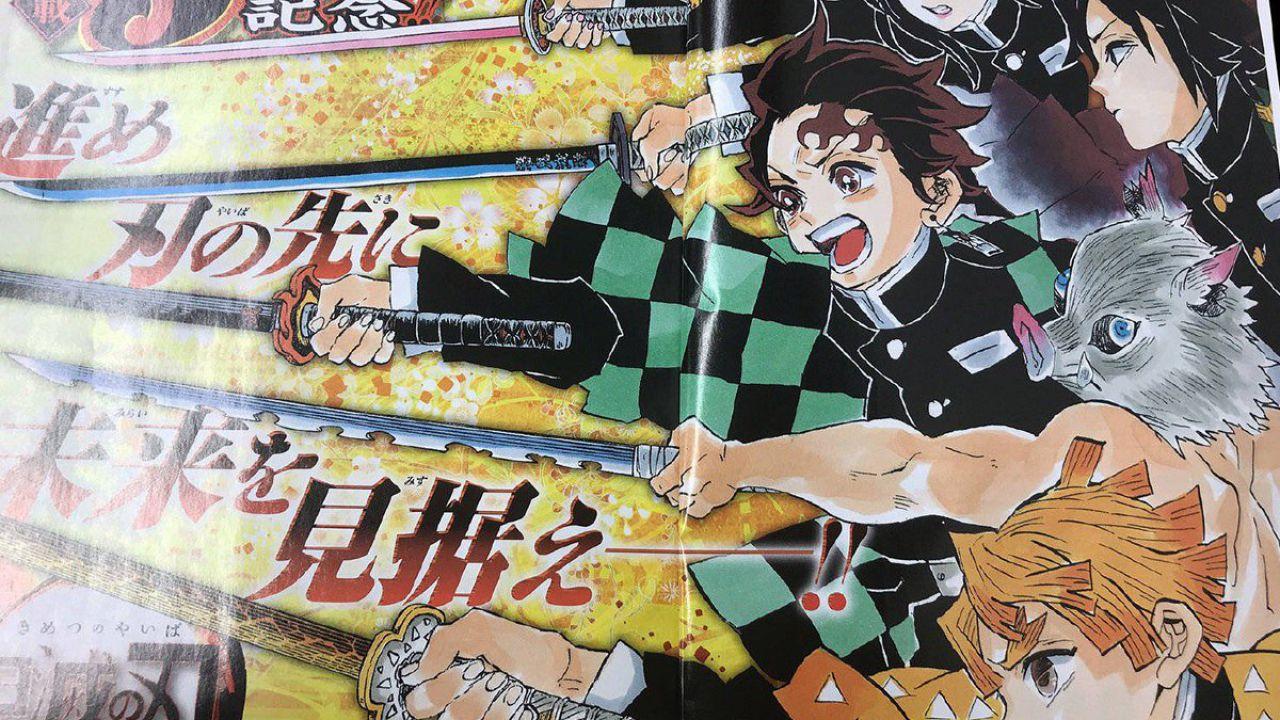 Demon Slayer: Kimetsu no Yaiba, copertina e volume in vista dell'anime