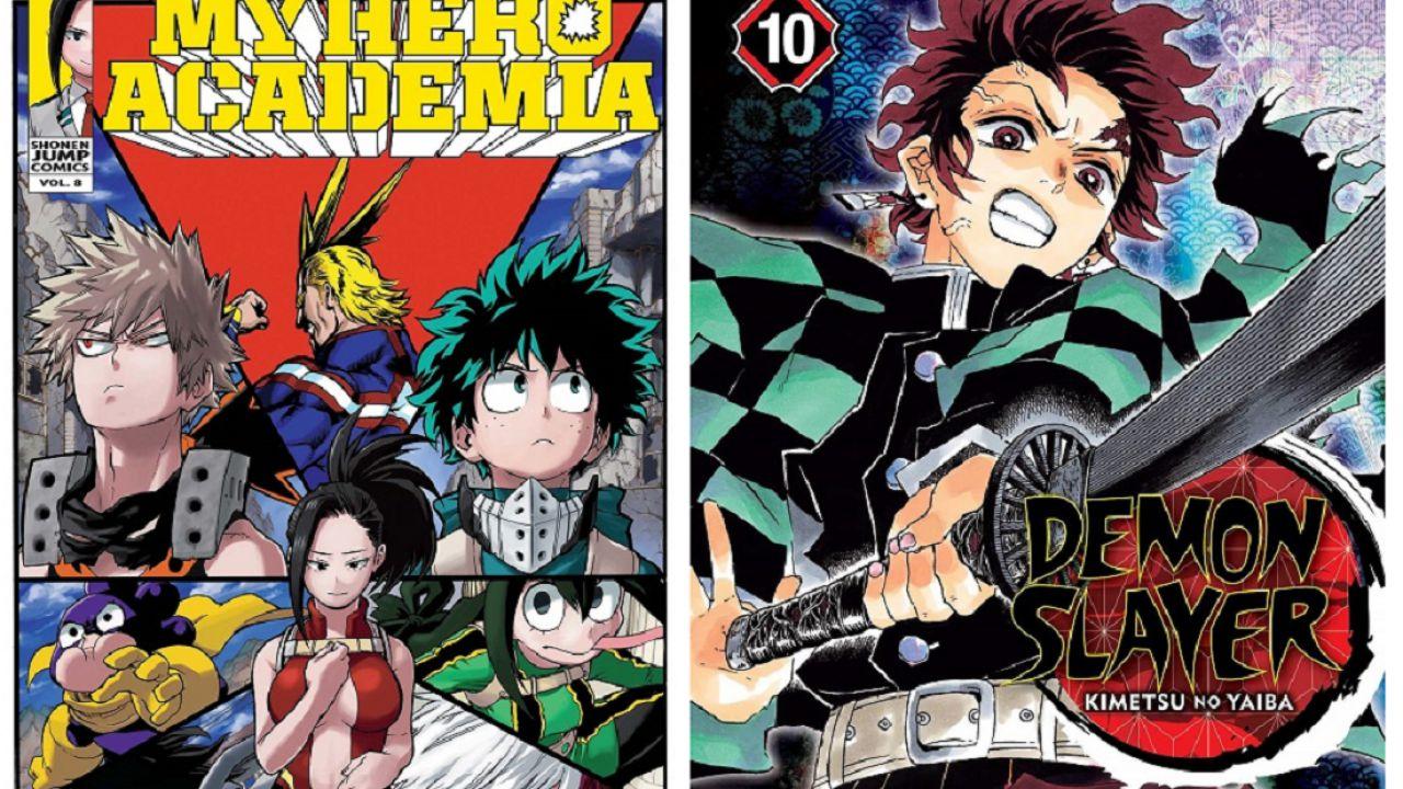 Demon Slayer: il manga si avvicina a My Hero Academia, 20 milioni di copie vendute