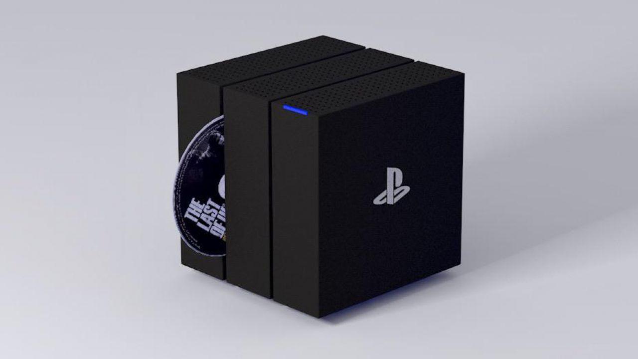 Design di PlayStation 5: un nuovo concept in stile GameCube
