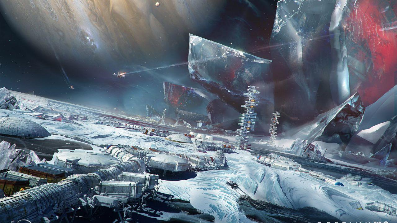 Destiny 2 Oltre la Luce: gli scenari dell'espansione nelle splendide immagini di Bungie