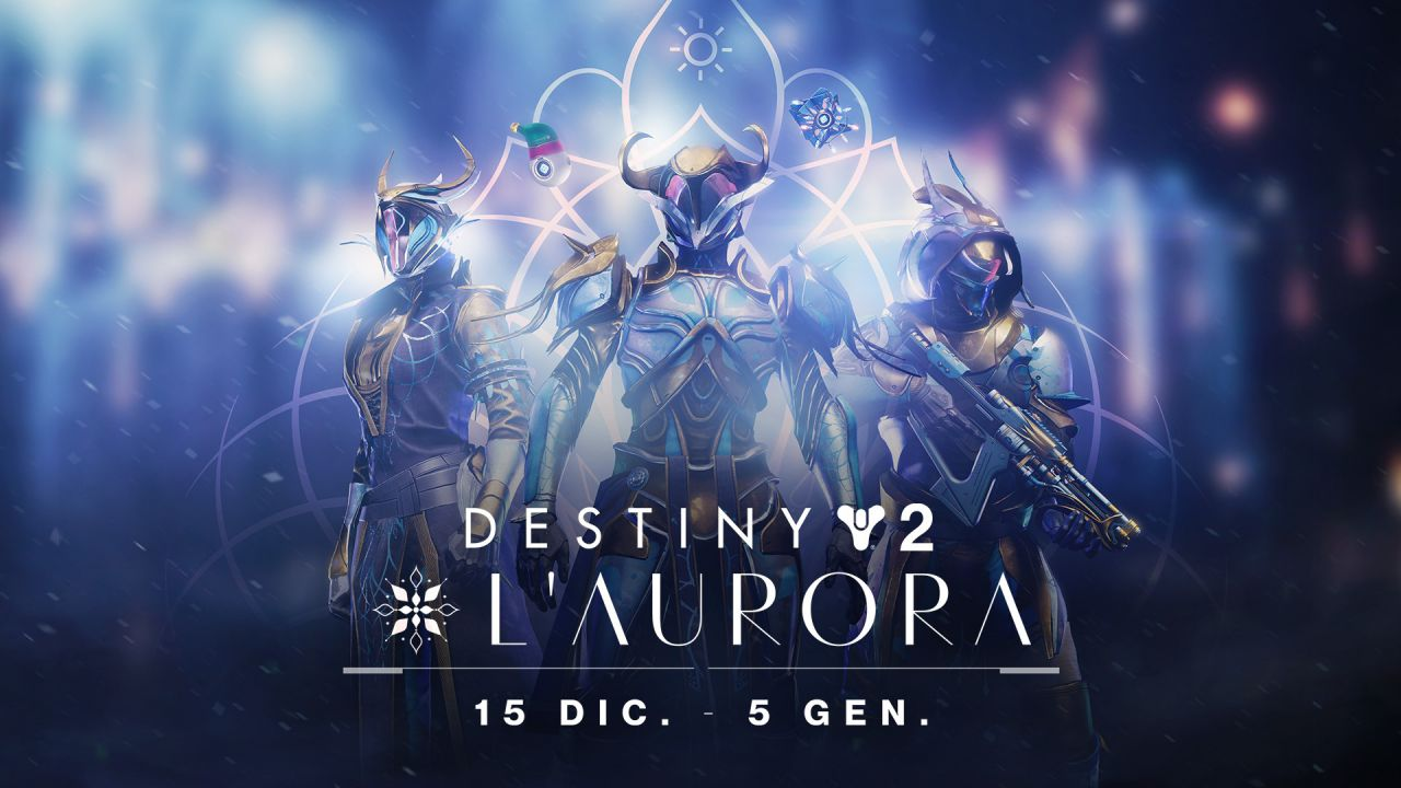 Destiny 2, è tornata l'Aurora: dettagli e ricompense dell'evento stagionale