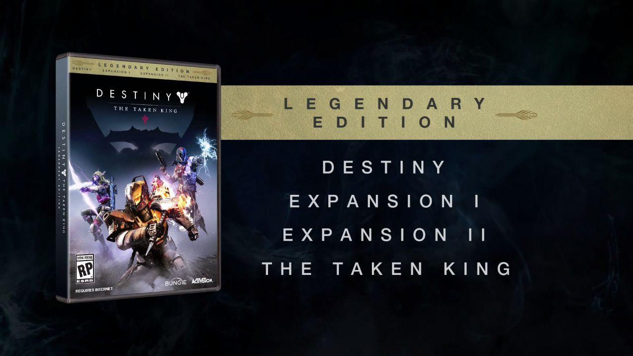 Destiny: L'edizione leggendaria de Il Re dei Corrotti si presenta in un video