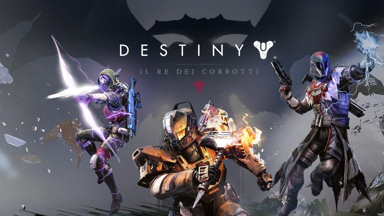Destiny Il Re dei Corrotti: il raid King's Fall sarà disponibile dalle 19:00