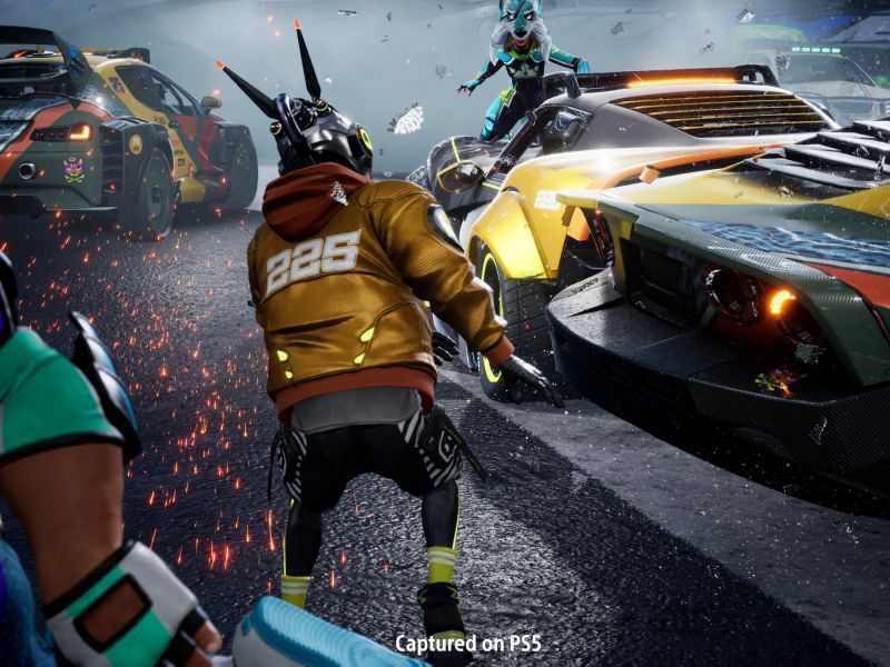 Destruction AllStars PS5 free on PlayStation Plus: how to invite and play with friends