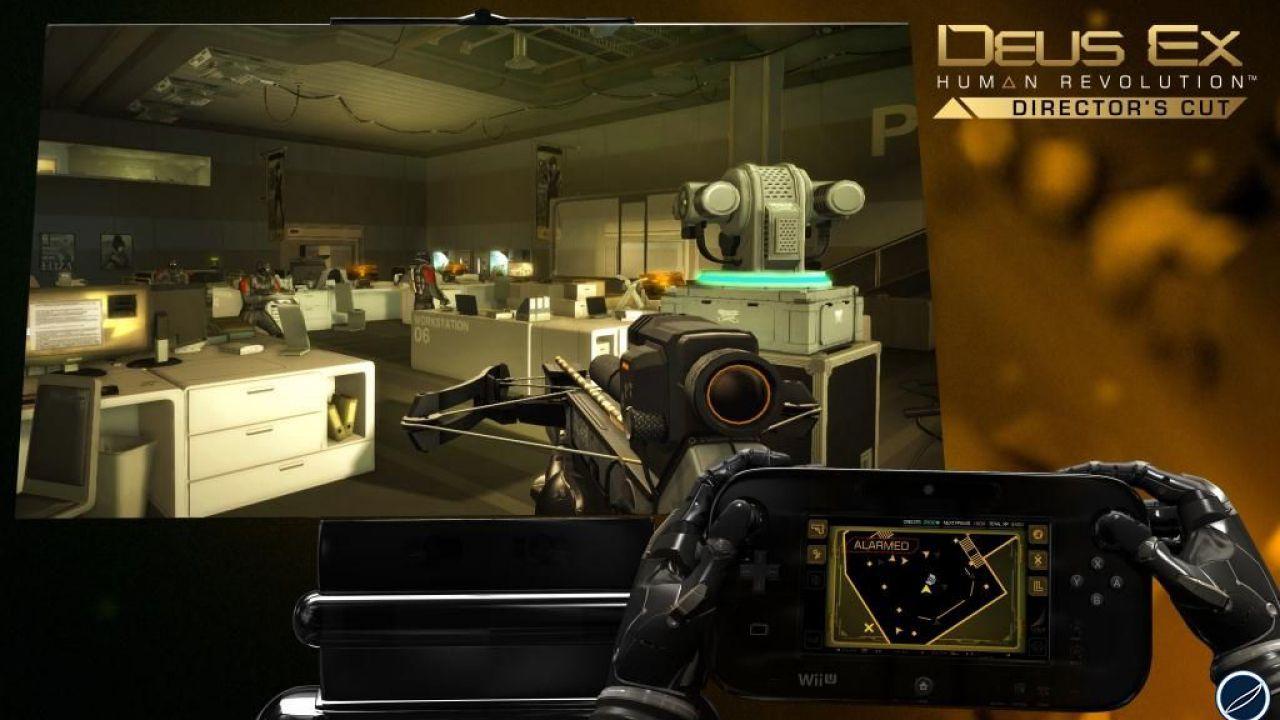 Deus Ex Human Revolution Director's Cut - screenshot per la versione Wii U