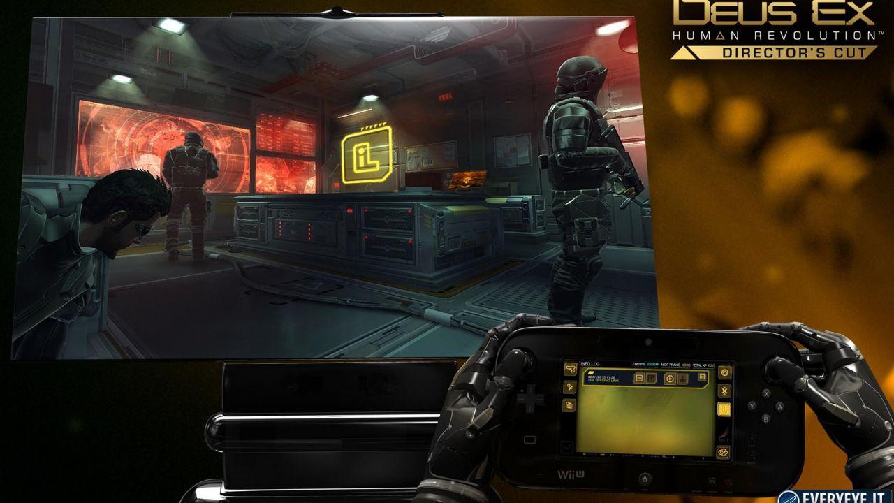 Deus Ex: Human Revolution Director's Cut: la versione Wii U avrà un prezzo più alto