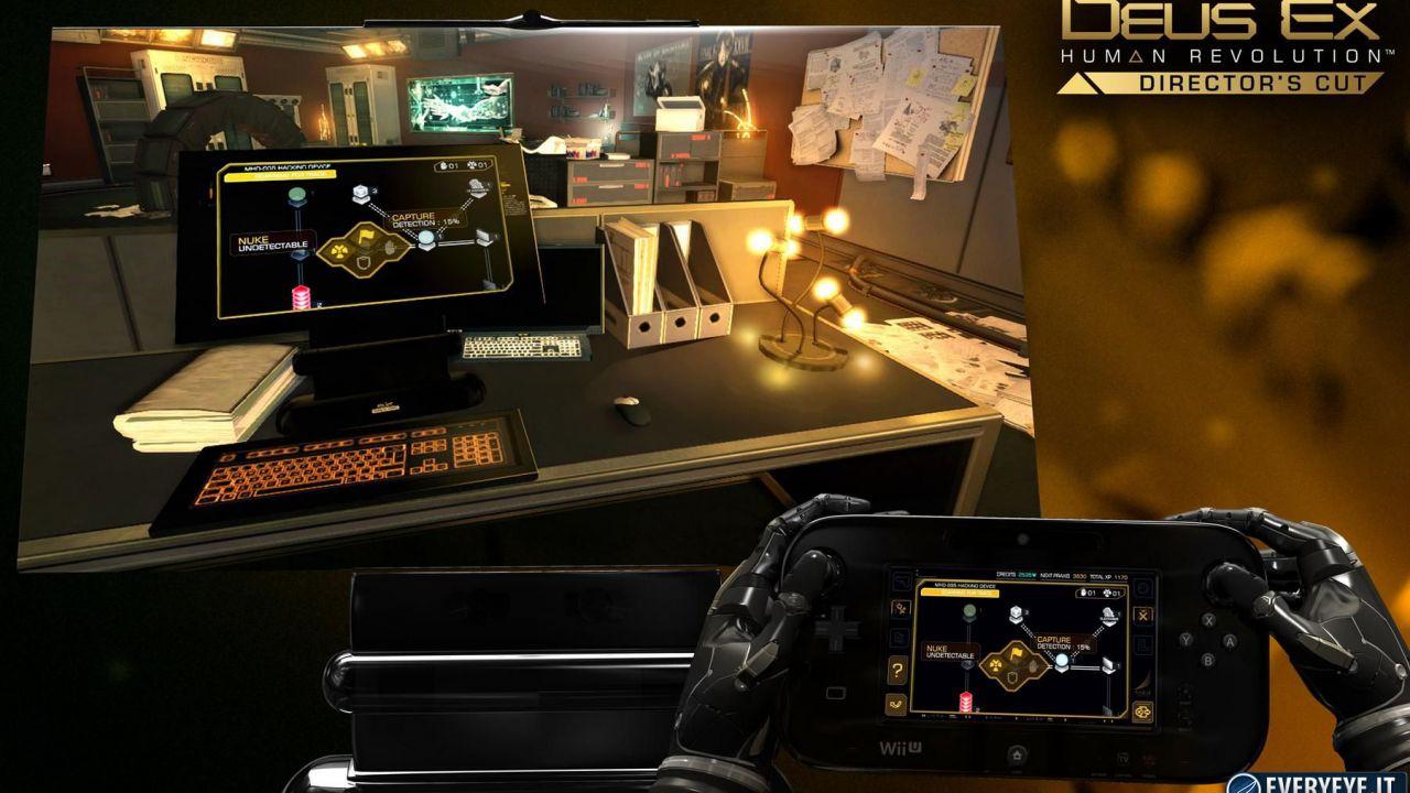 Deus Ex: Human Revolution - Director's Cut, un video per la versione Wii U