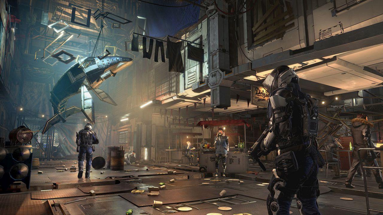 Deus Ex Mankind Divided si aggiorna su PS4 con una nuova patch da 4 GB