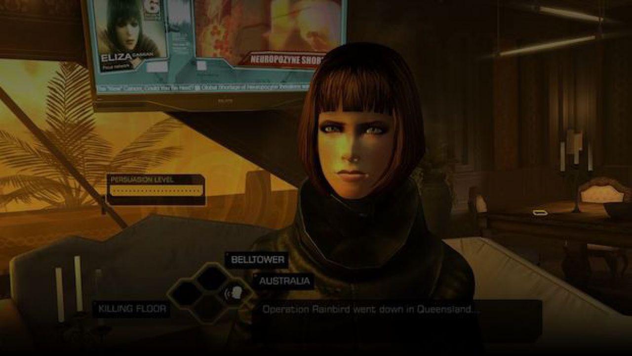 Deus Ex The Fall: aggiunta la compatibilità per iPad 2