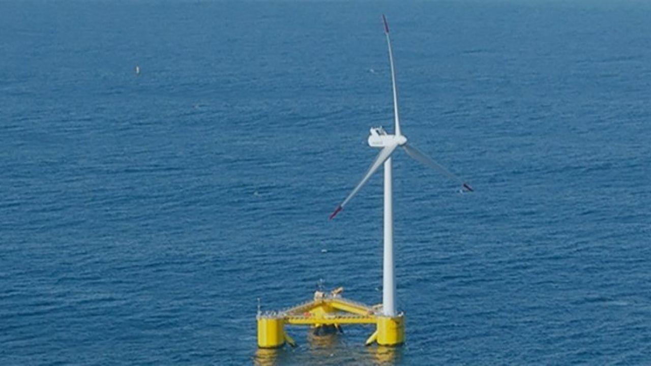 Diamo il benvenuto al più grande generatore eolico galleggiante del mondo