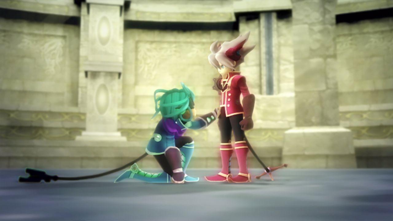 Dieci minuti di gameplay tratti dall'edizione Wii di Rodea the Sky Soldier
