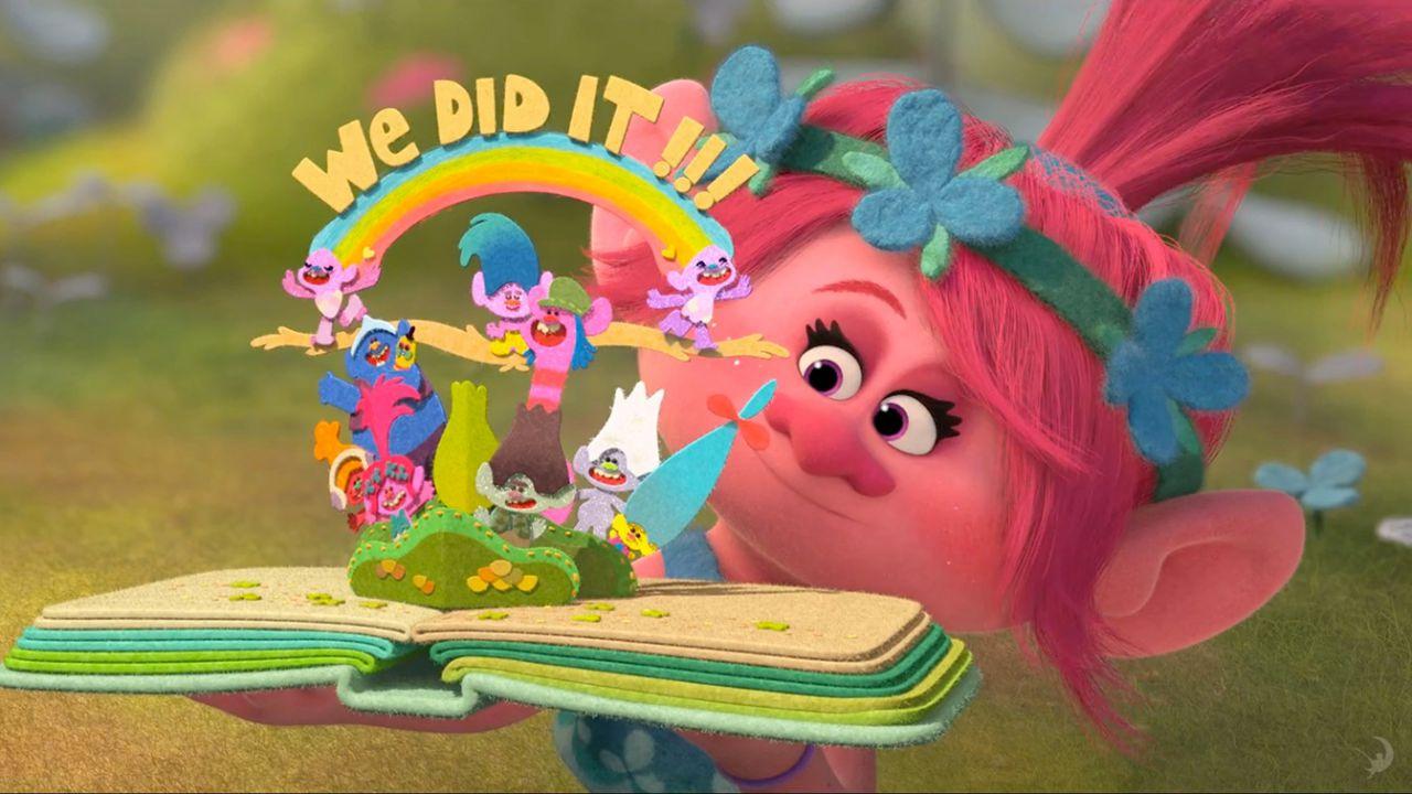 Dietro le quinte di trolls il nuovo film d animazione