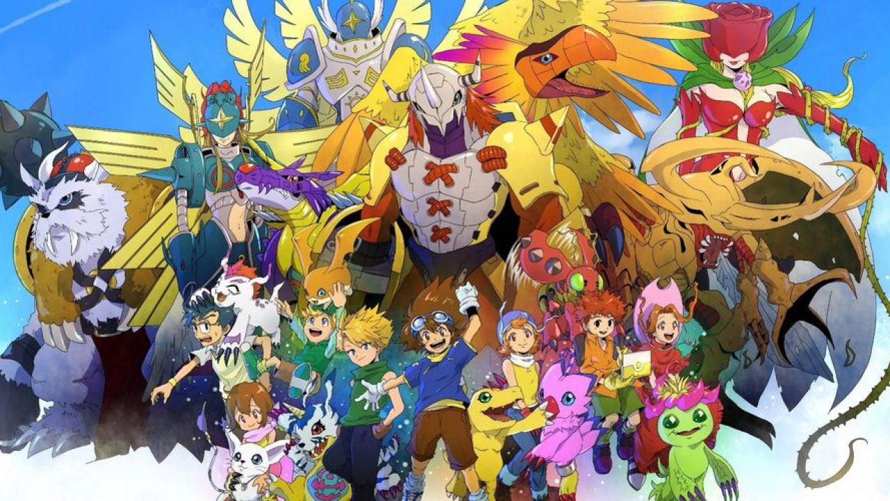 Digimon Adventure 2020: le mega evoluzioni dei protagonisti appaiono in un'immagine