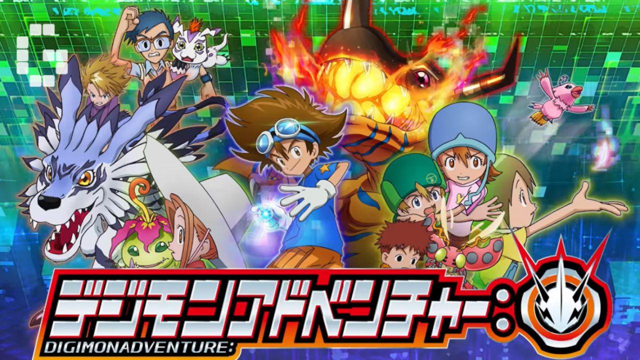 Digimon Adventure 2020 rivisita lo storico tema del 1999 in una nuova opening