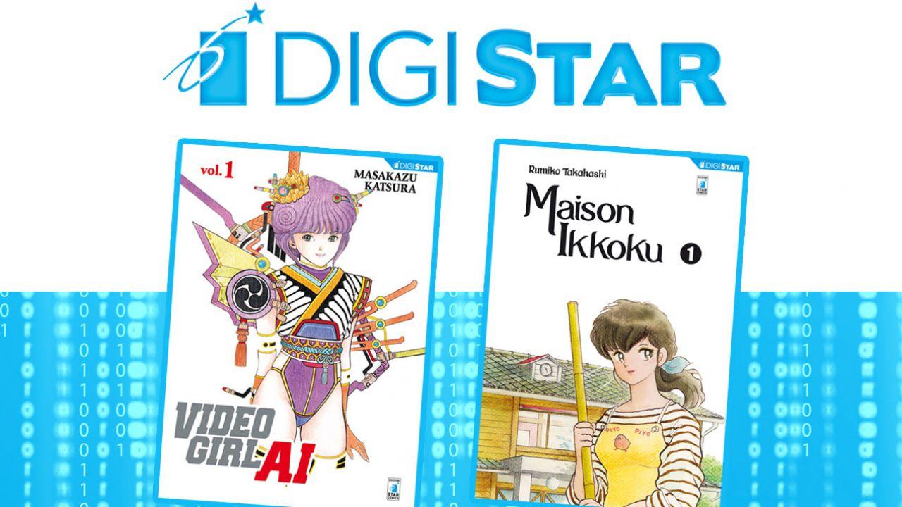Digistar di Star Comics si amplia con due nuove aggiunte al catalogo