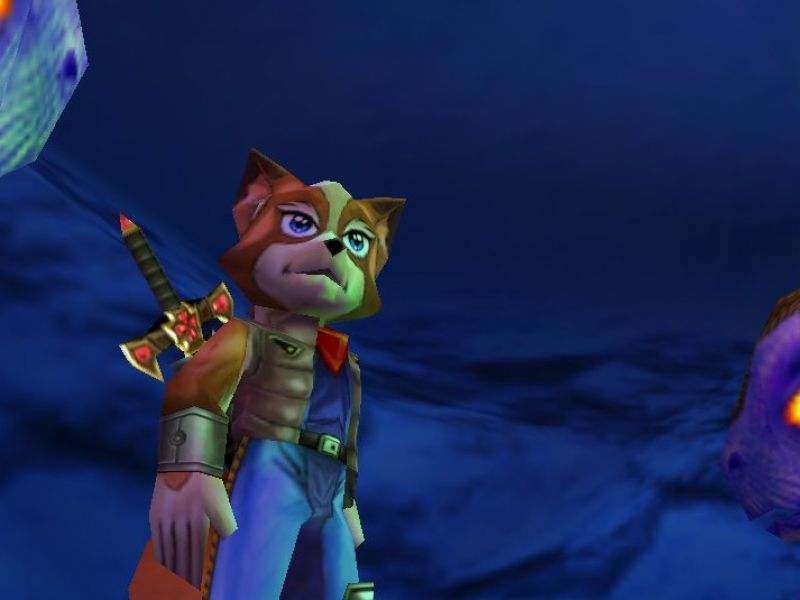 Dinosaur Planet, Rare's lost game reappears: it became Star Fox Adventures