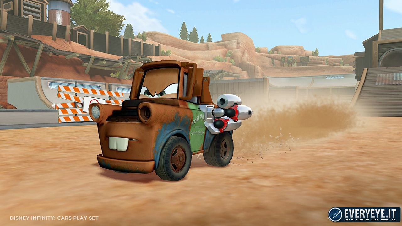 Dinsey Infinity: quattro immagini per Toy Story in Space