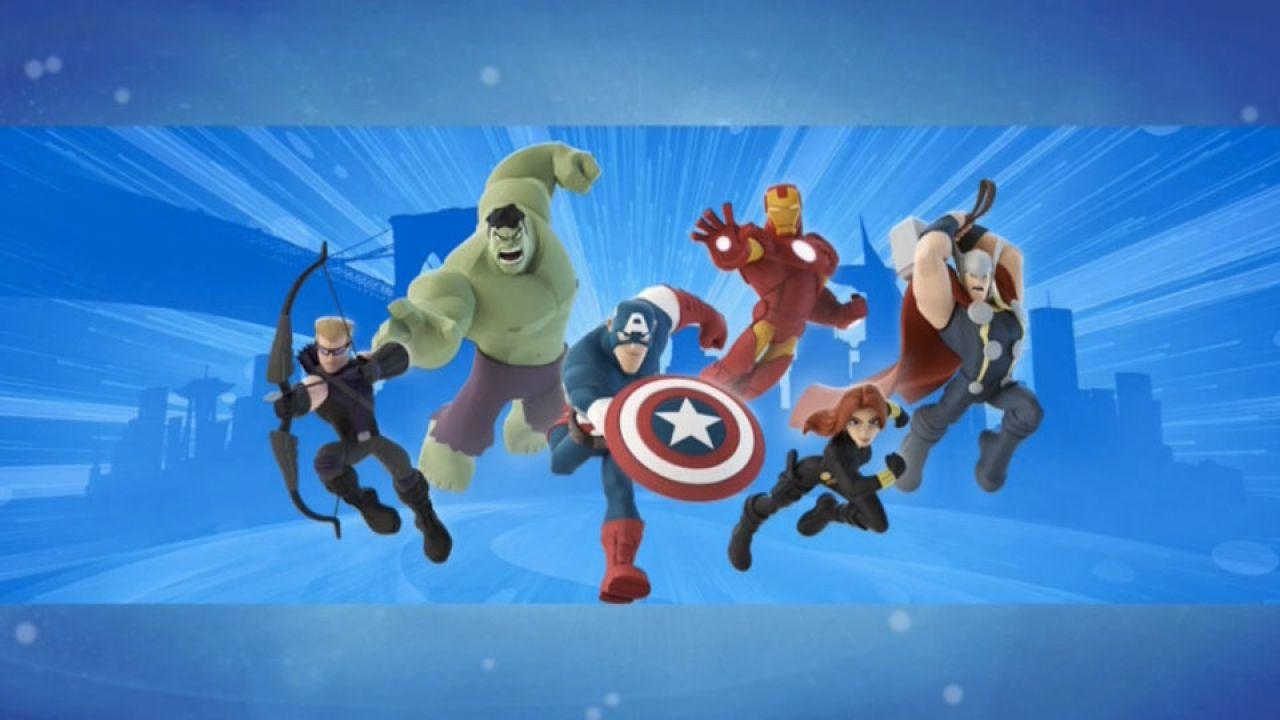 Disney Infinity 2.0 Marvel Super Heroes disponibile ora