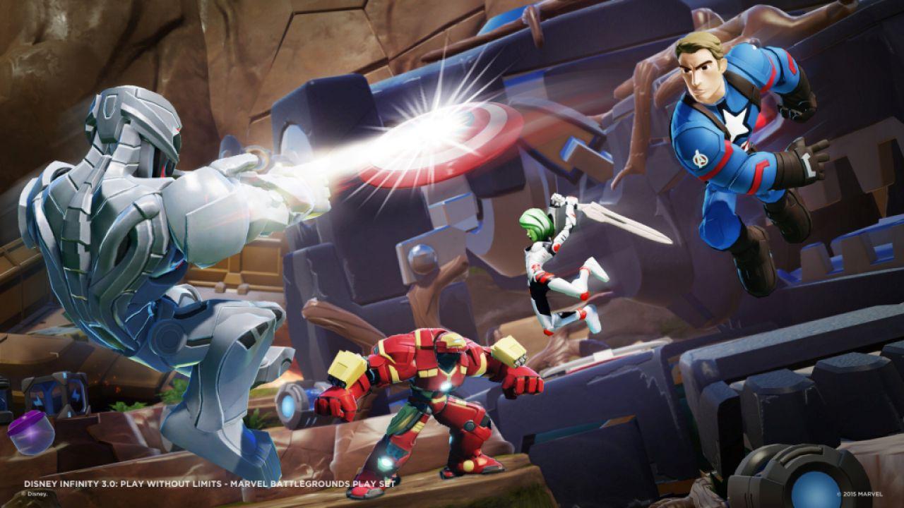 Disney Infinity 3.0: annunciato il Playset Marvel Battlegrounds