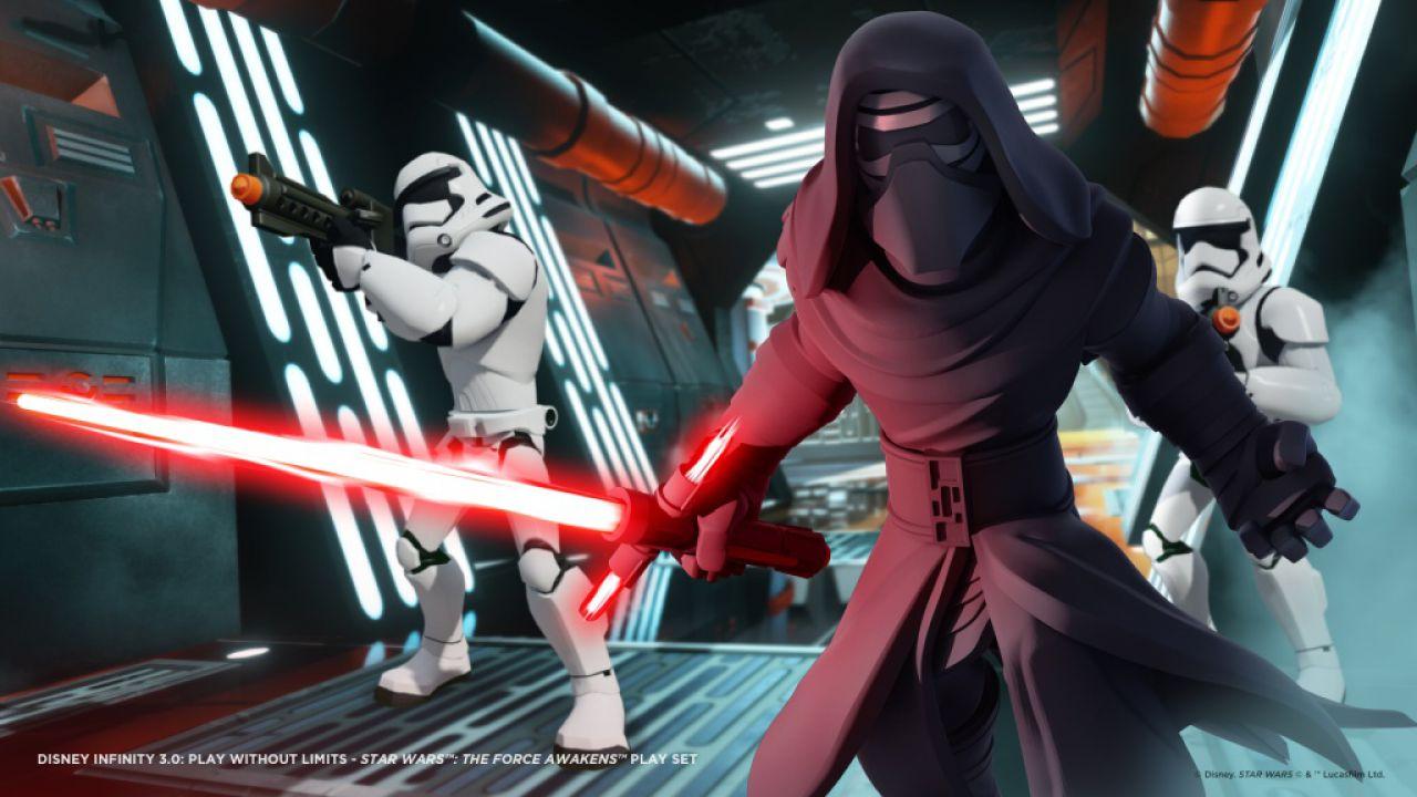 Disney Infinity 3.0: svelati i personaggi del Play Set di Star Wars Il Risveglio della Forza