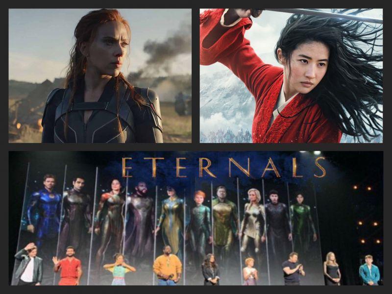Disney rivoluziona il calendario: ecco le nuove uscite di Black Widow, Gli Eterni, Mulan