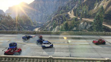 Disponibile in GTA Online la nuova Running Back Adversary Mode