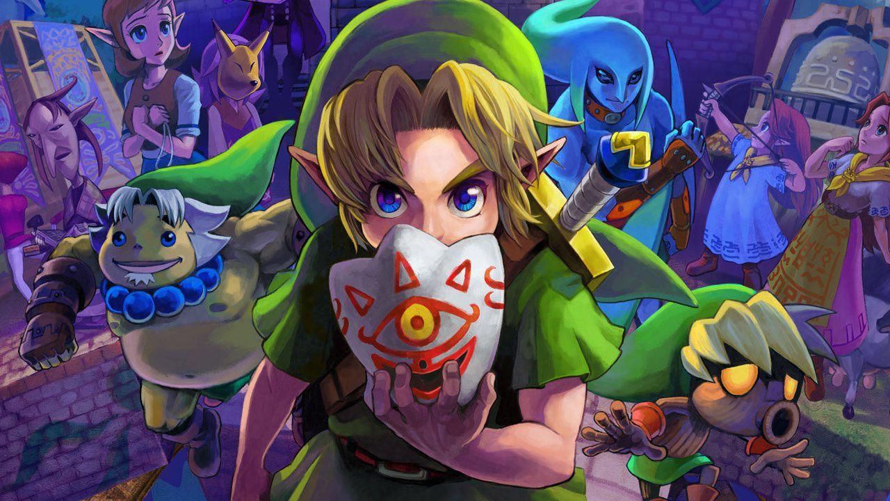 Disponibile l'aggiornamento 1.1 per The Legend of Zelda Majora's Mask 3D