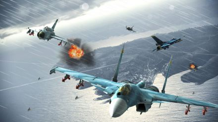 Disponibili nuovi contenuti per Ace Combat Infinity