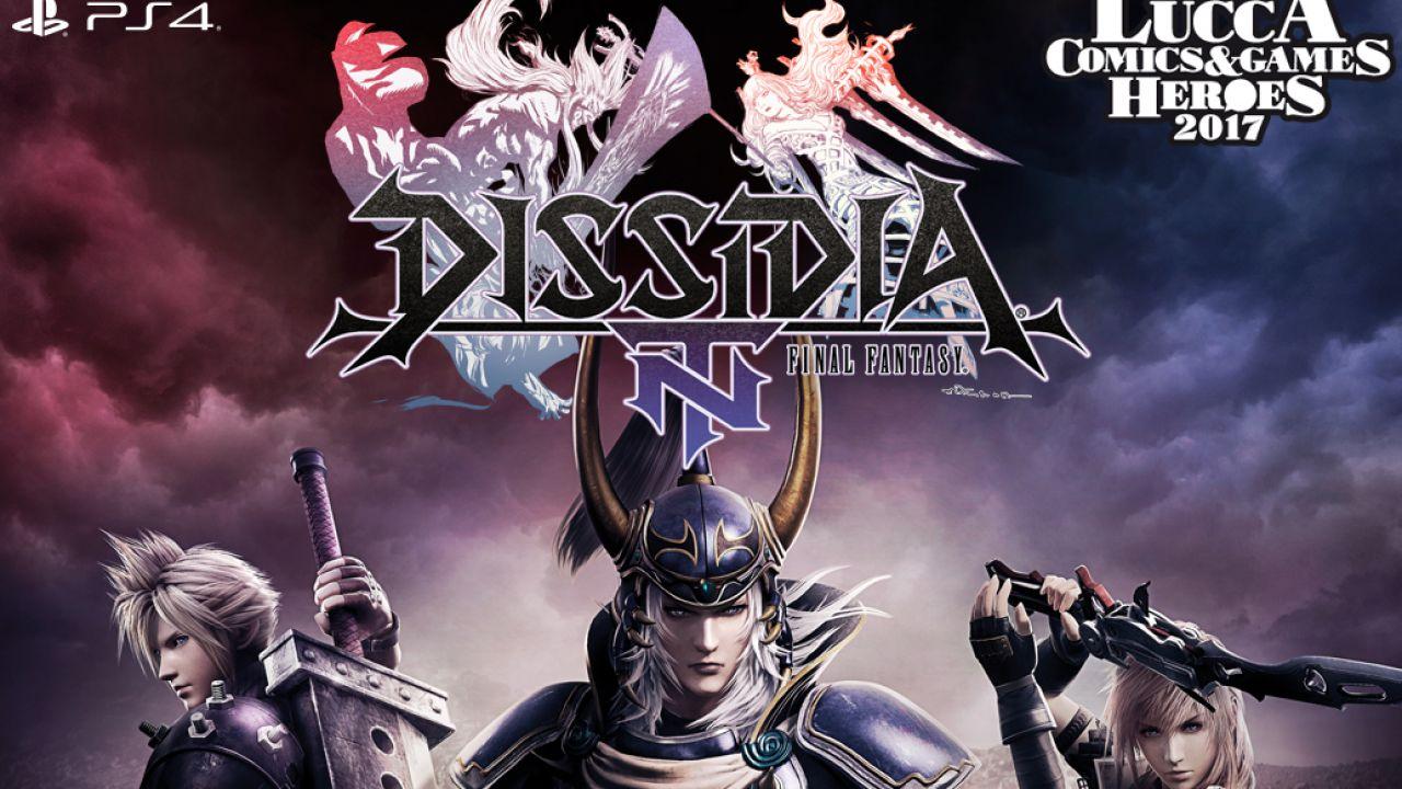 Dissidia Final Fantasy NT: tutti i live gameplay trasmessi da Lucca (replica)