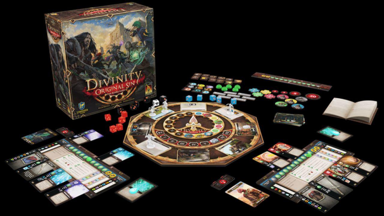 Divinity Original Sin 2: Larian Studios annuncia il nuovo gioco da tavolo