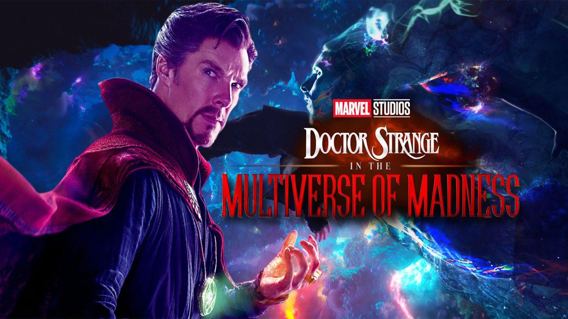Doctor Strange 2: il cinecomic è un horror a tutti gli effetti nel nuovo fan poster