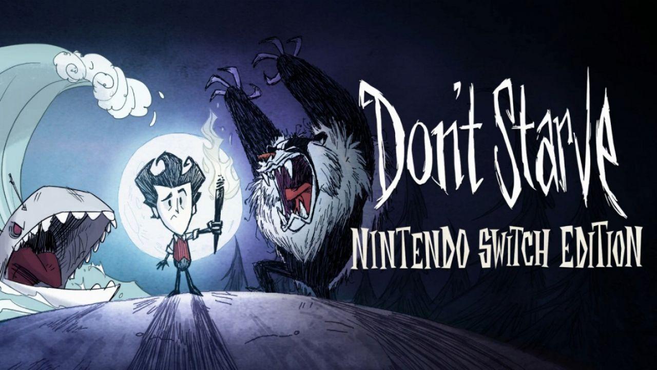 Don't Starve Nintendo Switch Edition appare sul'eShop, uscita fissata al 12 aprile