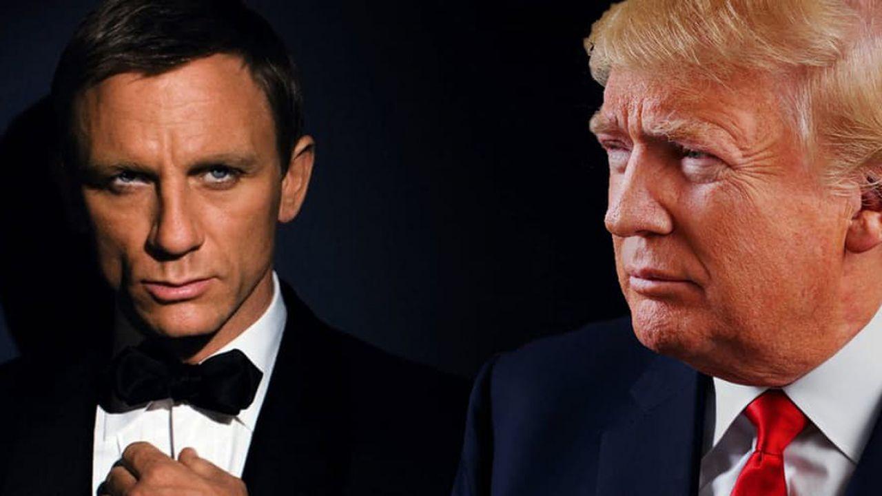 Donald Trump senza 007: nella sua legislatura nessun film di James Bond, è record