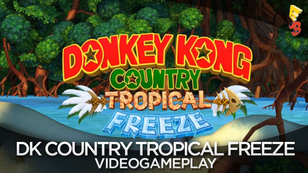 Donkey Kong Country: Tropical Freeze - il sito web ufficiale è online