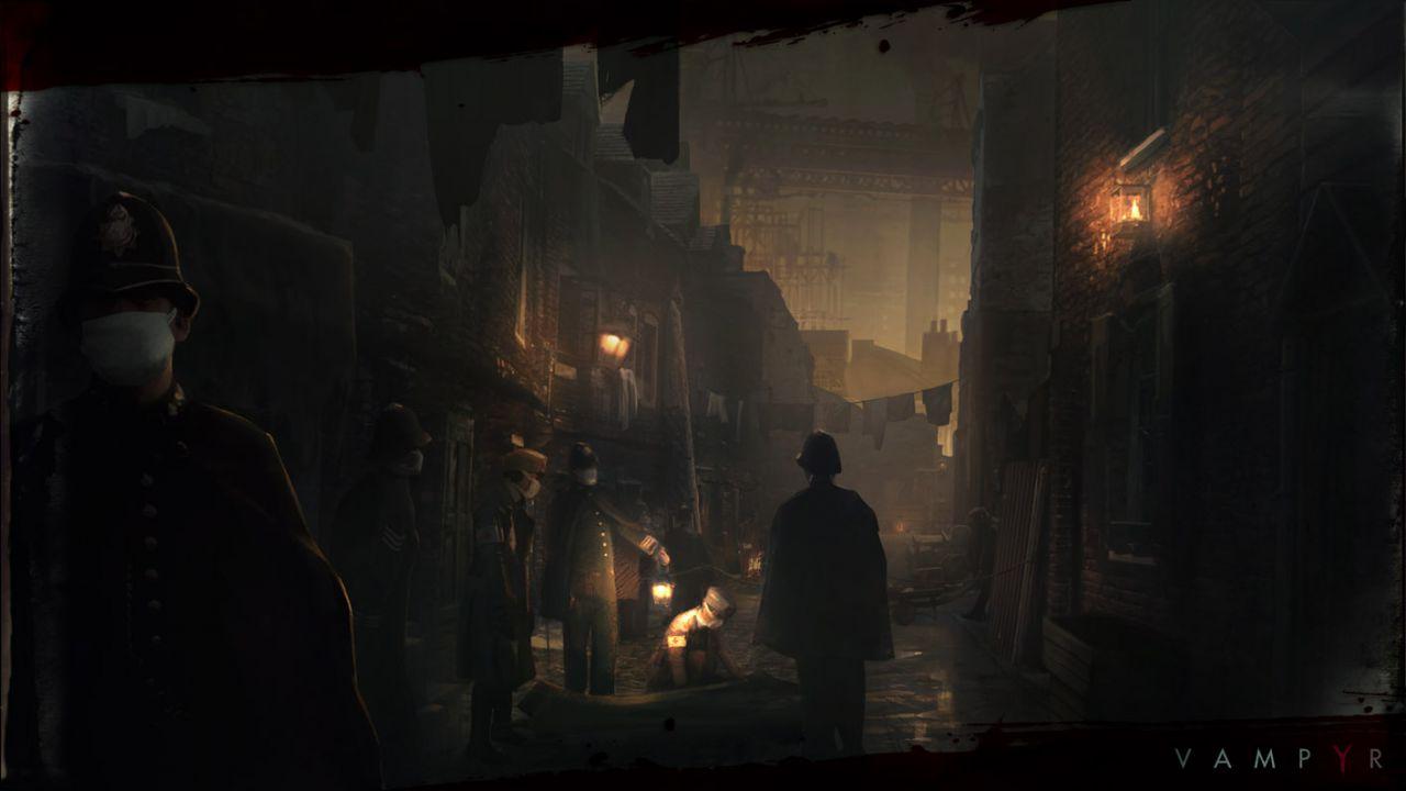 Dontnod parla della storia di Vampyr e pubblica nuovi artwork