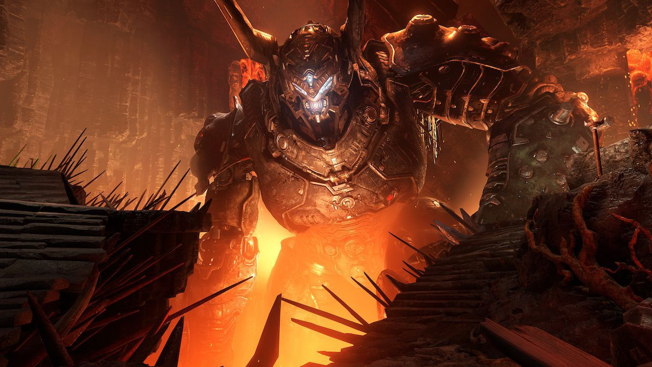 DOOM Eternal per Switch non è stato cancellato ma uscirà solo in digitale