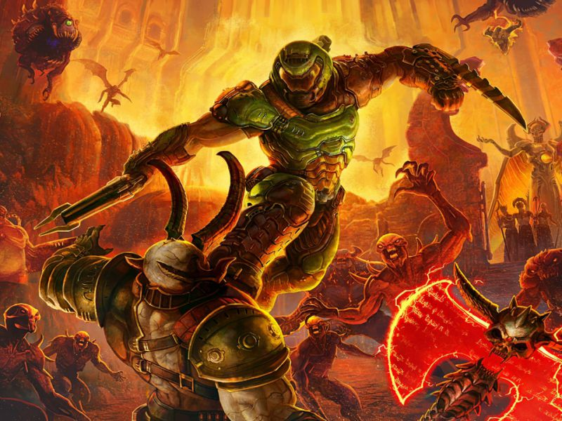 DOOM Eternal on Switch: that's why the footage runs at 20fps