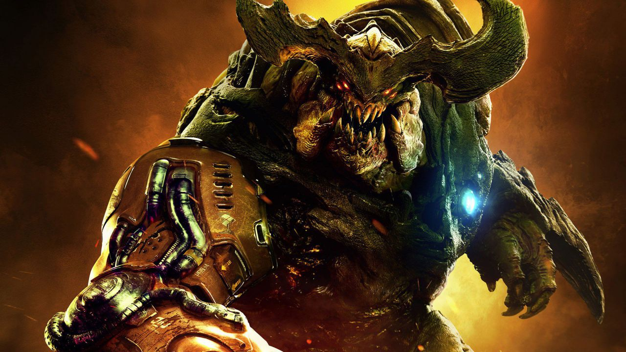 DOOM: tema PS4 gratis per gli abbonati Plus