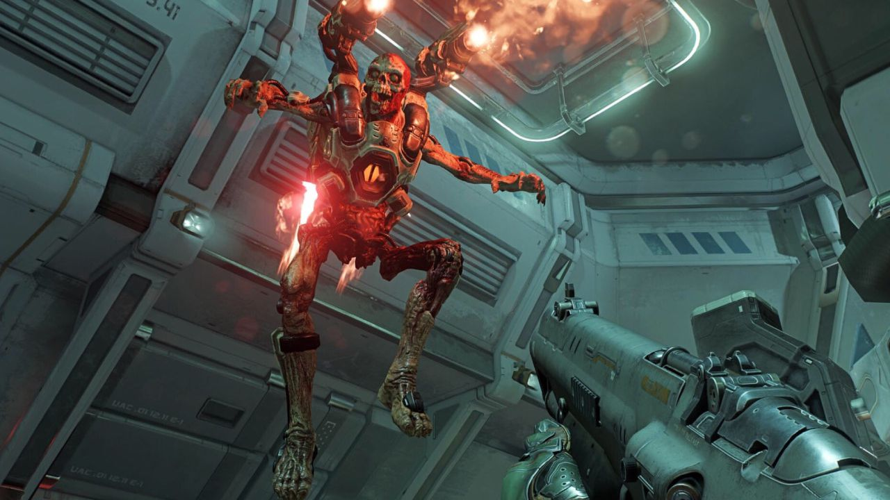 DOOM: un video mostra mappe e modalità multiplayer